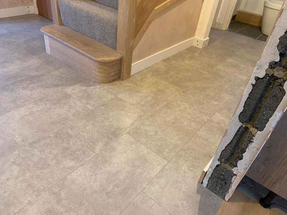Amtico Luxury Vinyl Tile Installation 5