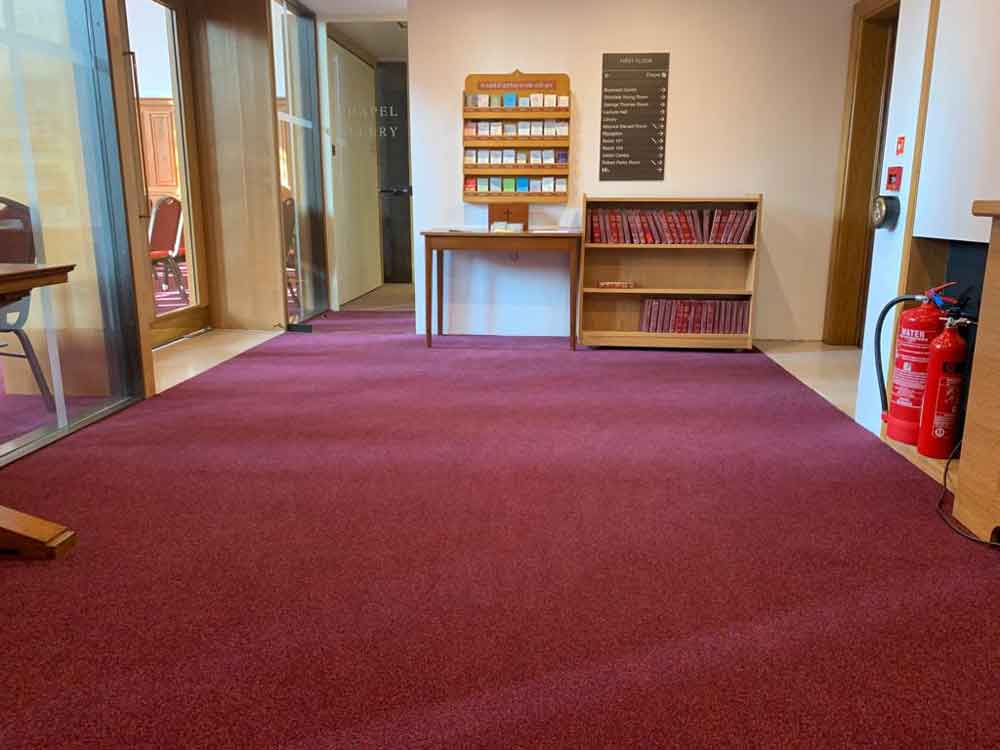 Broadloom Carpet Installation 17