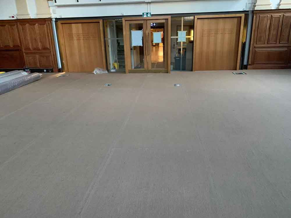 Broadloom Carpet Installation 9