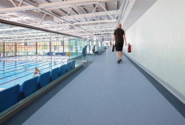 Polyflor commercial safety flooring